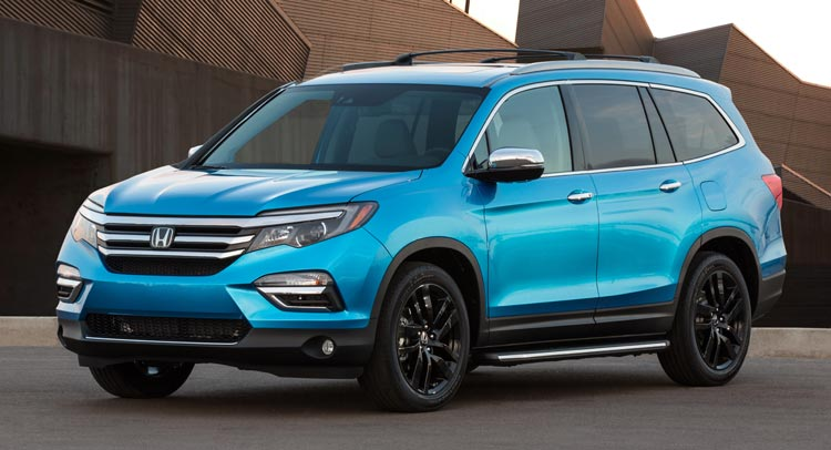 The Redesigned 2016 Honda Pilot Received An Overall Five Star  Crash Worthiness Rating This Week From The National Highway Traffic Safety  Administration.