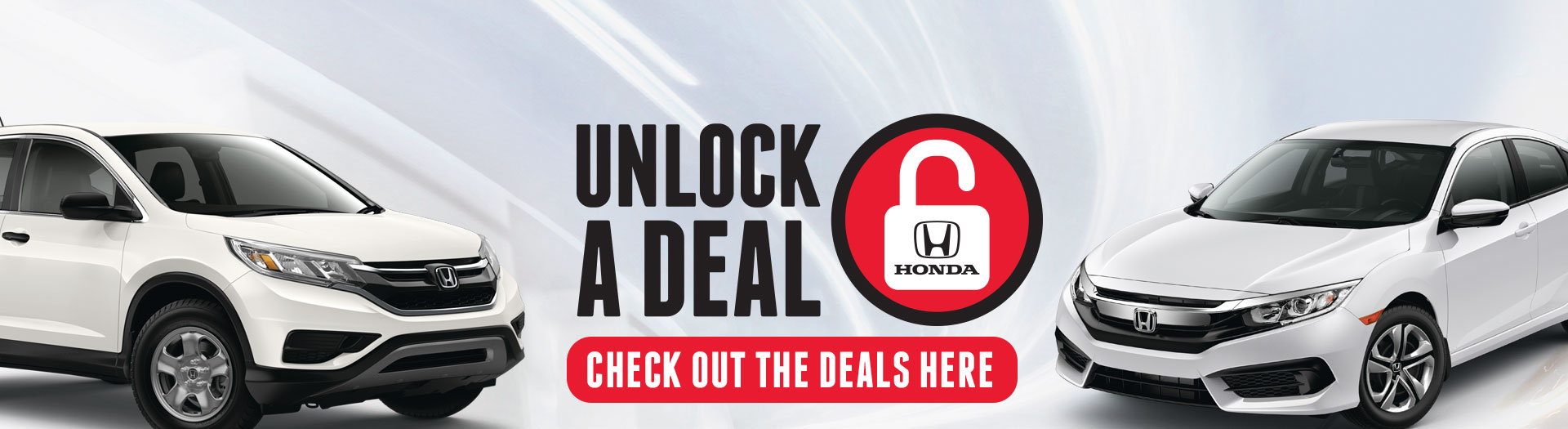 Unlock a deal with Henley Honda this March!