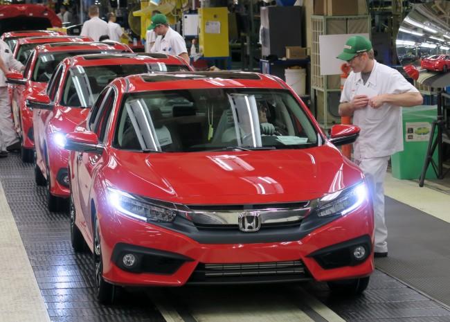 Honda Canada investing